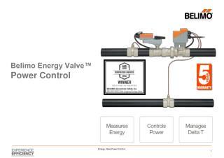 Belimo Energy Valve™ Power Control