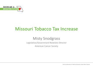 Missouri Tobacco Tax Increase