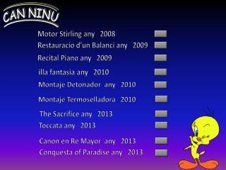 Recital Piano  any    2009