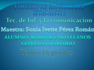 Colegio de bachilleres Iztacalco  3