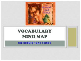 Vocabulary  Mind Map