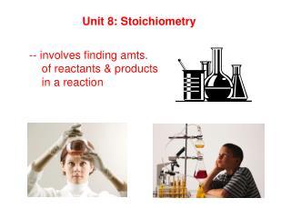 Unit 8: Stoichiometry