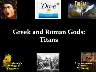 Greek and Roman Gods: Titans