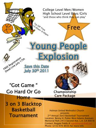 Young People Explosion