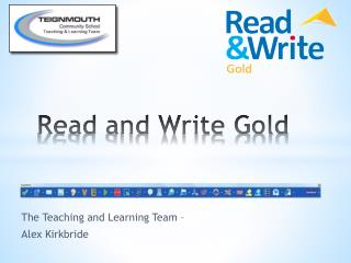 Read and Write Gold