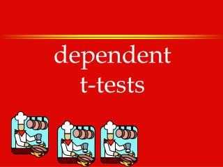 Dependent t-tests