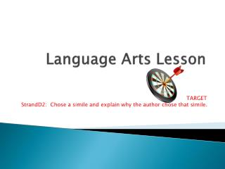Language Arts Lesson