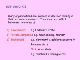 GG5: Gen C: KI3