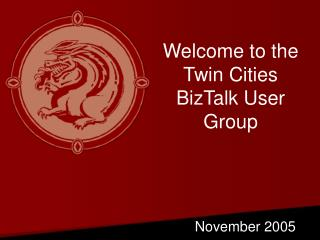 Welcome to the Twin Cities BizTalk User Group