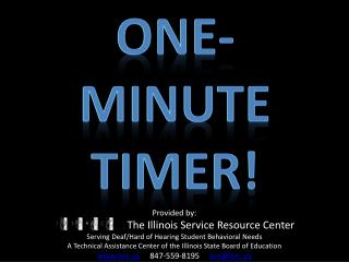 One-Minute Timer!