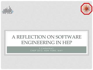 A reflection on software engineering in  HEP
