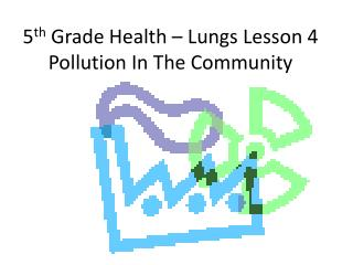 5 th  Grade Health – Lungs Lesson 4 Pollution In The Community