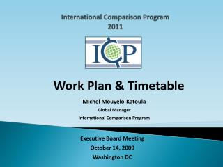 International Comparison Program 2011