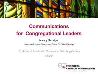 Communications  for Congregational  Leaders
