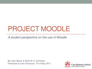 Project moodle