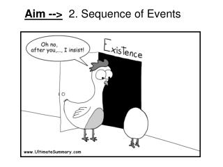 Aim -->   2. Sequence of Events
