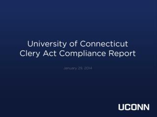 What is the  Clery  Act?