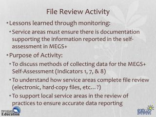 File Review Activity