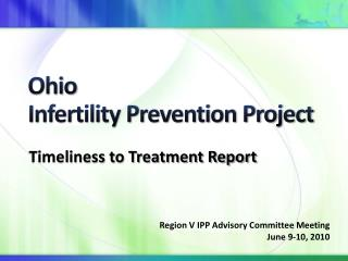 Ohio Infertility Prevention Project