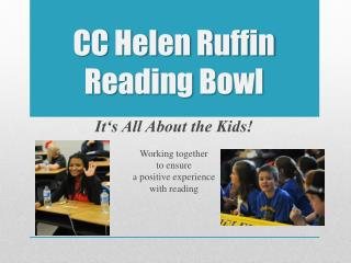 CC Helen Ruffin Reading Bowl