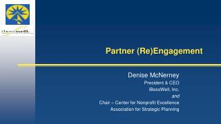 Partner (Re)Engagement