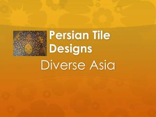 Persian Tile Designs