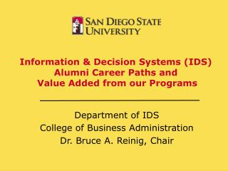 Information  Decision Systems IDS