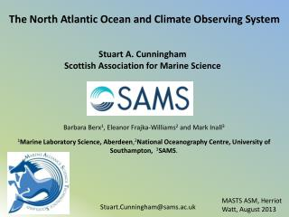 The North Atlantic Ocean and Climate Observing  System
