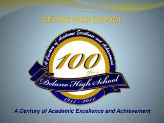 A Century of Academic Excellence and Achievement