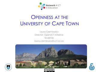 O penness at the University of Cape Town