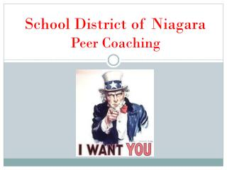 School District of  Niagara Peer  Coaching