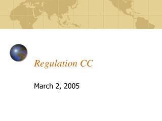Regulation CC