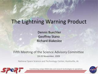 The Lightning Warning Product