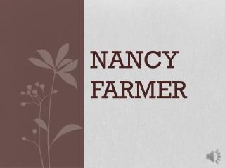 Nancy Farmer