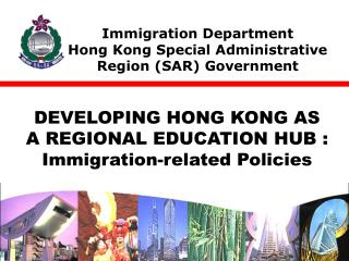 Immigration Department  Hong Kong Special Administrative Region SAR Government