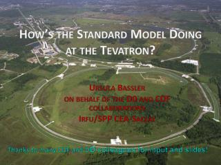 How's the Standard Model Doing at  the  Tevatron ?