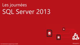 Cloud OS Data Platform : Azure &  SQL Julien PLEE Stéphane GOUDEAU