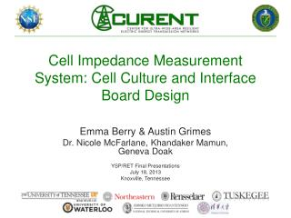 Cell Impedance Measurement System: Cell Culture and Interface Board Design