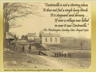 Source : novahistory/Centreville_History.htm