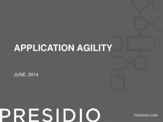 Application agility