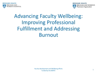 BURNOUT AMONG CARE PROFESSIONALS