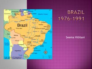 Brazil 1976-1991