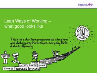Lean Ways of Working –  what good looks like