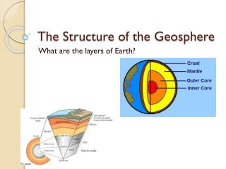 The Structure of the Geosphere