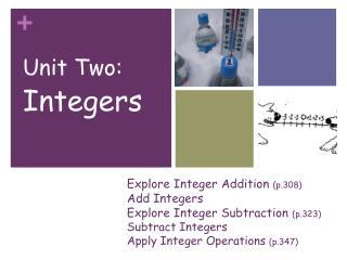 Unit Two: Integers