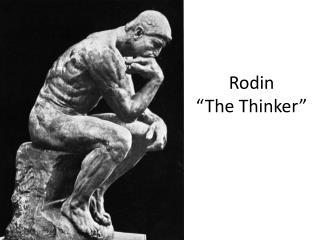 Rodin �The Thinker�
