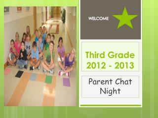 Third Grade 2012 - 2013