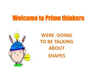 Welcome to Prime thinkers