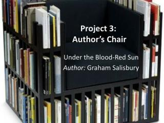 Project 3:  Author's Chair