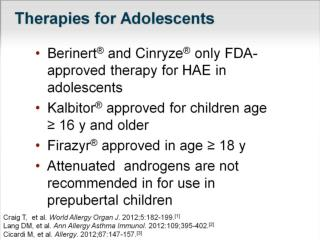 Therapies for Adolescents